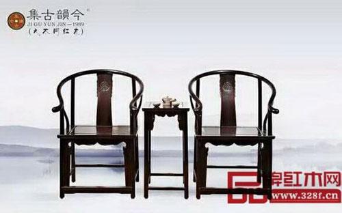 表现出榫卯结构的家具