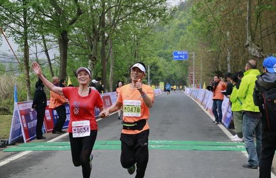 4800人体验天台山春景 顾家家居领跑一场有爱的马拉松