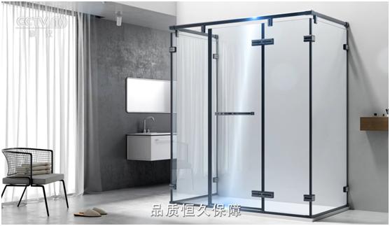 央视细述蓝品优沐淋浴房的品牌故事