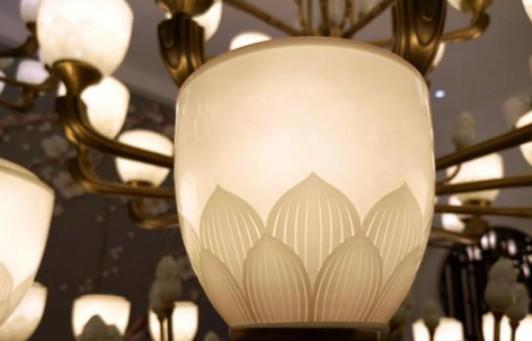 走访华中最大灯饰市场汉来广场,探寻新中式灯饰身影