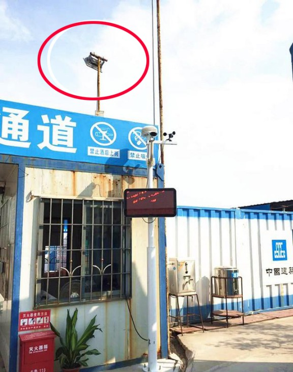 中国建筑集团承建的vivo总部施工采用LED灯节能