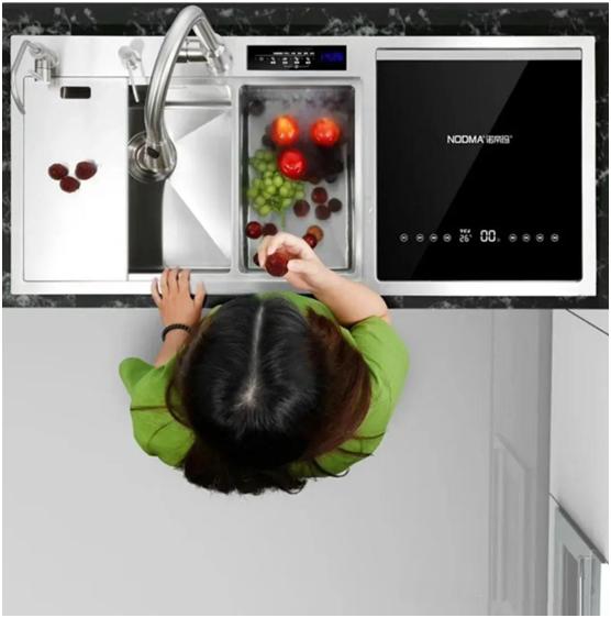诺帝玛双触媒果蔬智能净化水槽 呵护全家健康